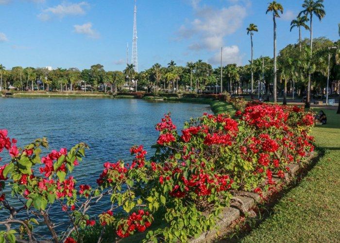 População aproveita Primavera na retomada de atividades no Parque da Lagoa