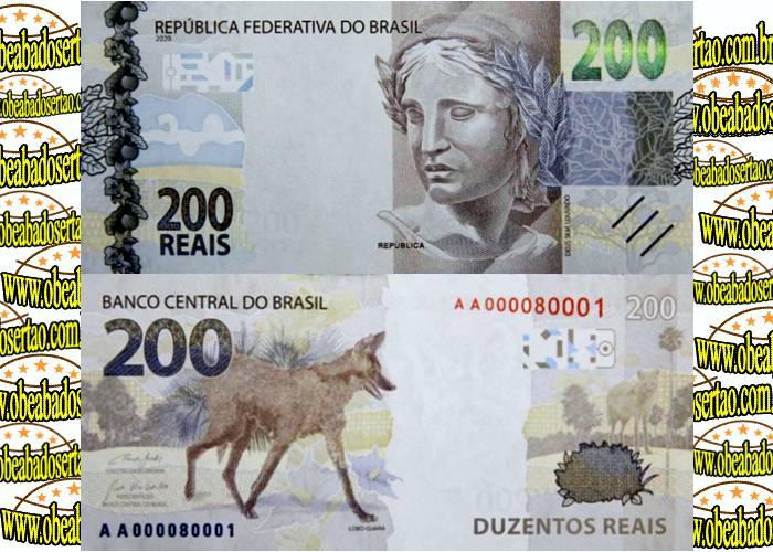 Banco Central apresenta nota de R$ 200,00 e já coloca em circulação
