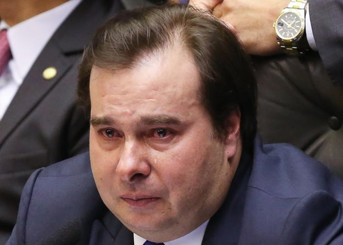 """""""Paulo Guedes não gosta de mim"""", diz Rodrigo Maia"""