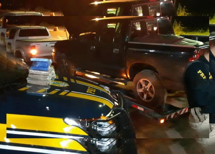 PRF prende casal transportando maconha e cocaína no sertão paraibano