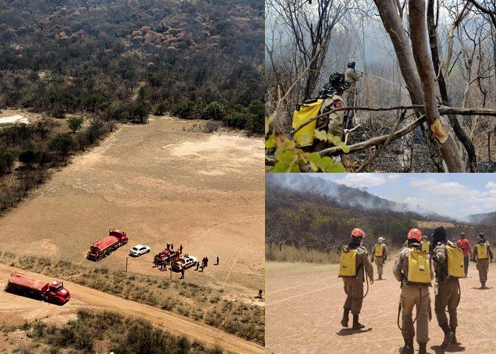 Operação Queimadas: Bombeiros lançam ação para prevenir incêndios no sertão